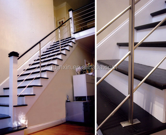 Stainless Steel Railings For Indoor Stairs Price Exterior Handrail Lowes Bu