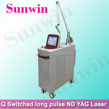 1064/532nm Active Q switch nd yag laser with big spot size/clinic