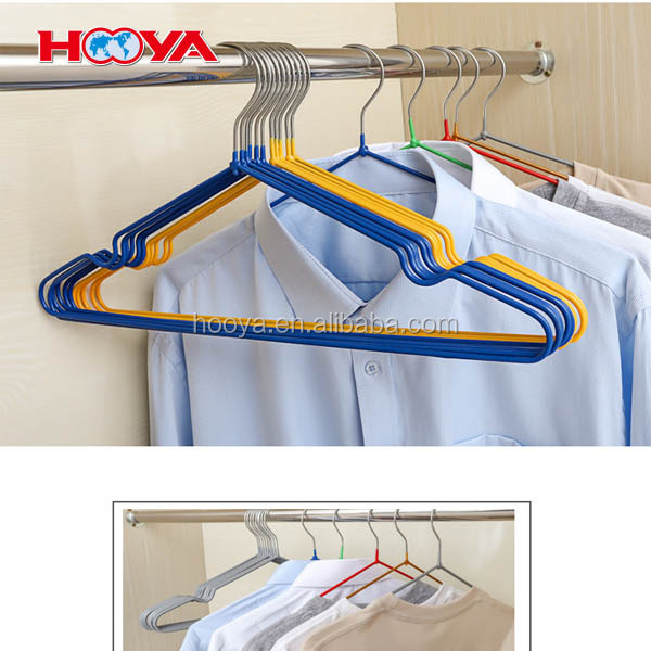 Non-Slip Metal Clothes Hangers Ultra Thin Space Saving Design for Men and Women Dress Suit