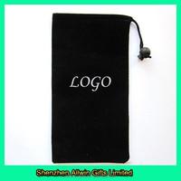 Packing use custom velvet drawstring pouch bag