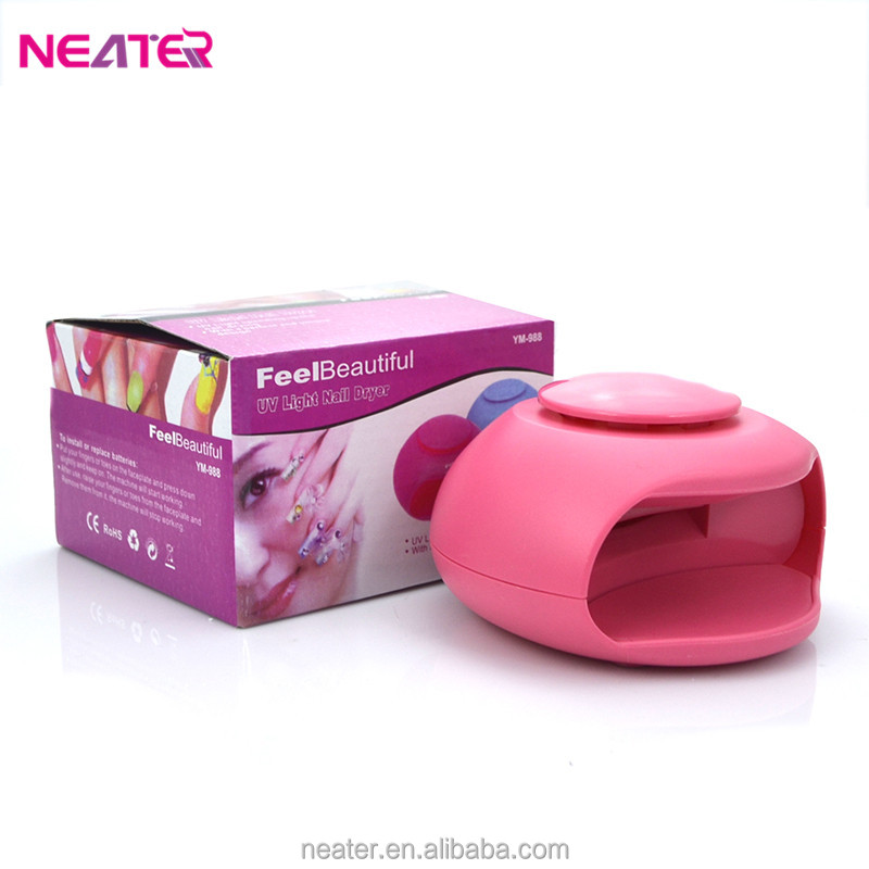 Plastic round UV light nail dryer machine,nail polish dryer,nail dryer station