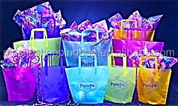Clear Shopping Bag Polypropylene Convenience Store Plastic Bag