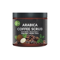 New Products Private Label Skincare Natural Herbal Moisturizing Coffee Body Scrub