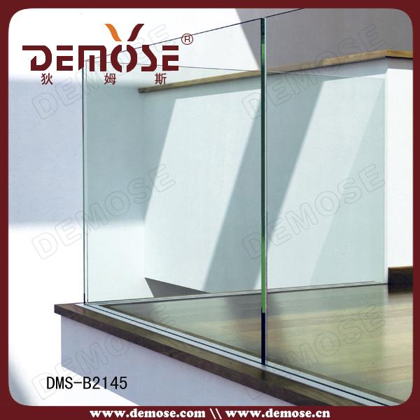 Aluminum Glass Railing Channel/aluminum Channel Railing Side