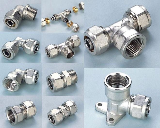Wholesale compression brass fitting for pex al