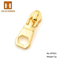 Custom factory price bag garment metal zipper pull