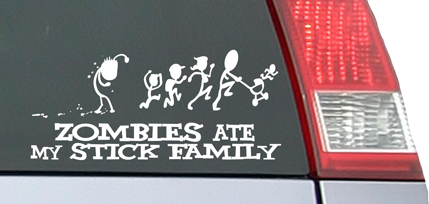 zombie decals for car images