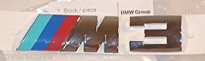 Genuine BMW Brand E46 M3 Emblem Badge Factory Sealed OEM