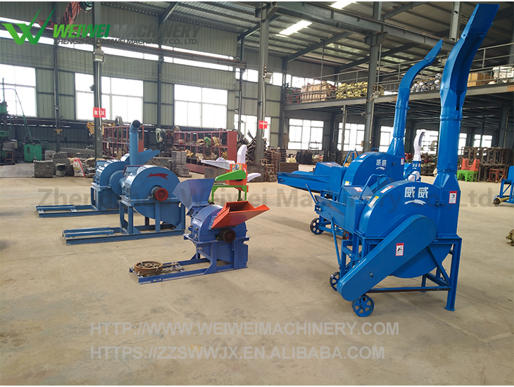 Weiwei cheap price electric and diesel straw cutter