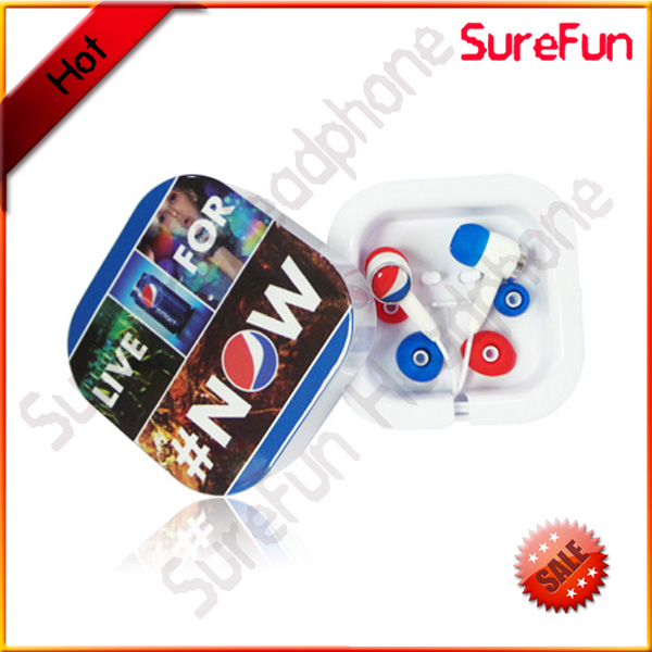 best colorful earphone for pepsi promotion