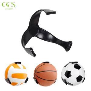 Plastic Ball Claw Wall Mount Space Save Basketball and Soccer Holder football Basketball storage Wall Hanger Ball display rack