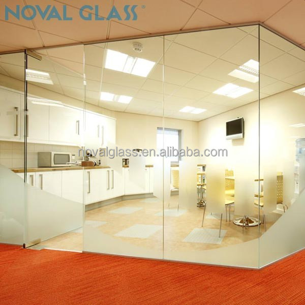 Top Grade Office Used Tempered Glass Wall