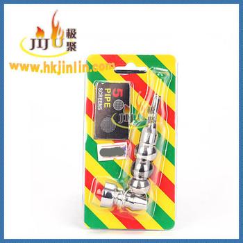 Jl-437 Yiwu Jiju China Wholesale Metal Smoking Pipes Parts
