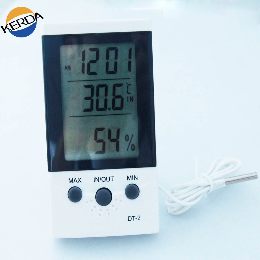 DT-2 Indoor humidity thermometer digital room temperature digital thermometer