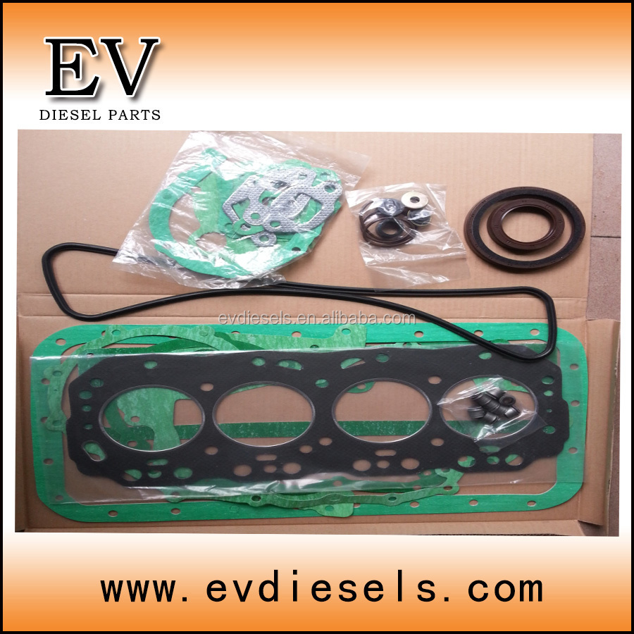 forklift engine 2H complete gasket kit / full gasket set fit for TOYOTA overhauling spare parts