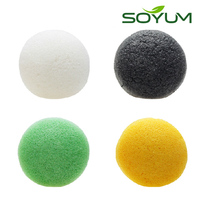 Wholesale konjac sponge makeup sponge magic sponge