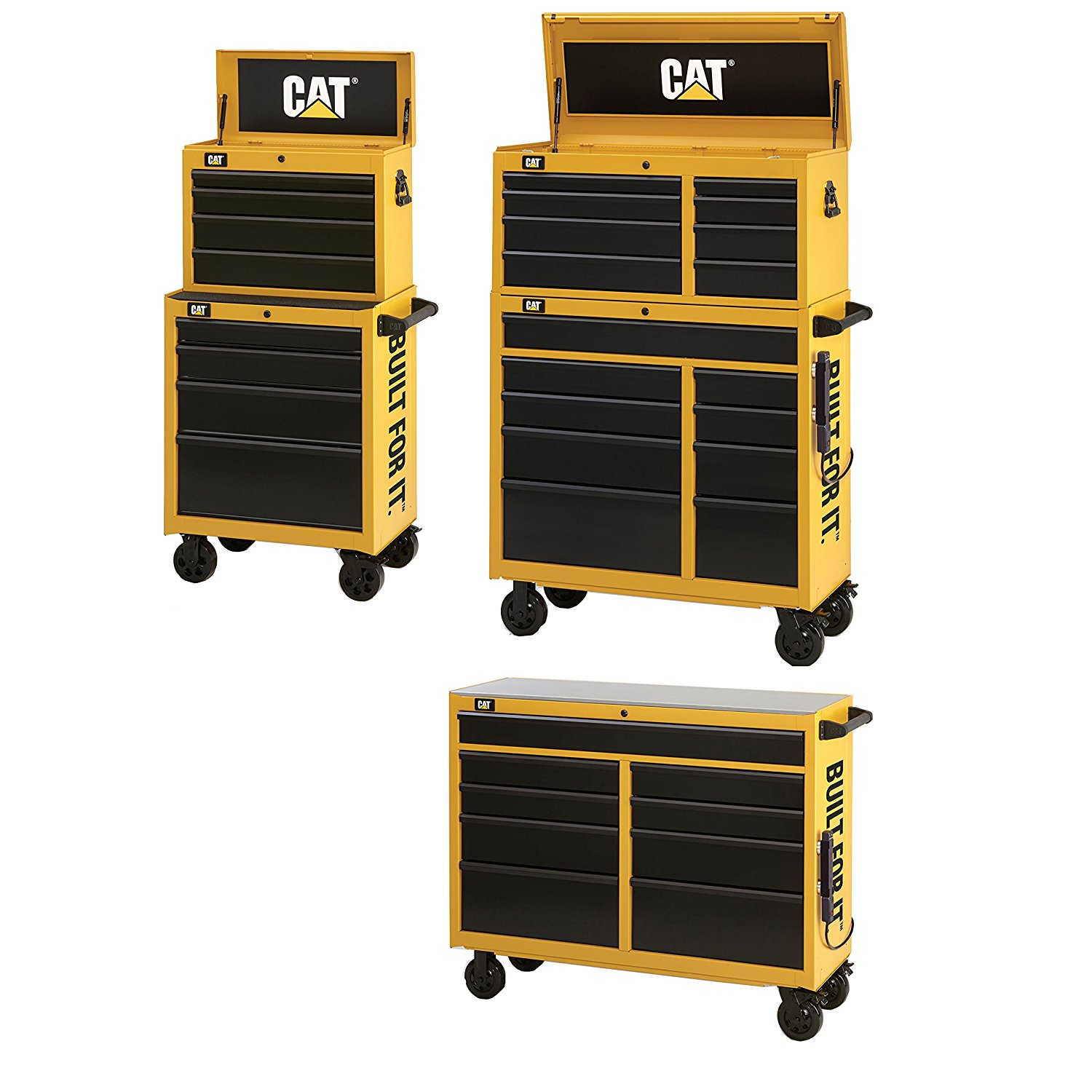 """Caterpillar CAT-IND4108 41"""" Chest/Cabinet, WS with CAT-IND2604 26"""" Chest/Cabinet"""