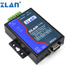 ZLAN5143BI Industrial Isolate serial RS232 RS485 422 to Ethernet tcp/ip lan Converter Multi-host modbus RTU Gateway iot Server