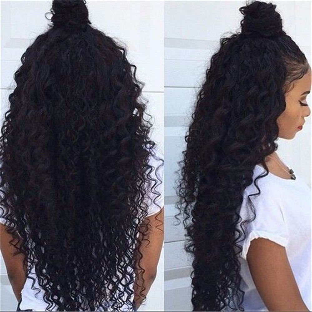 Human Hair Material and 100% Remy Brazilian Hair Perucas Full Lace Wig with Baby Hair and Brawn Silk Base Wig Cap