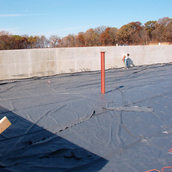 Root Barrier 2mm HDPE Geomembrane para horticultura