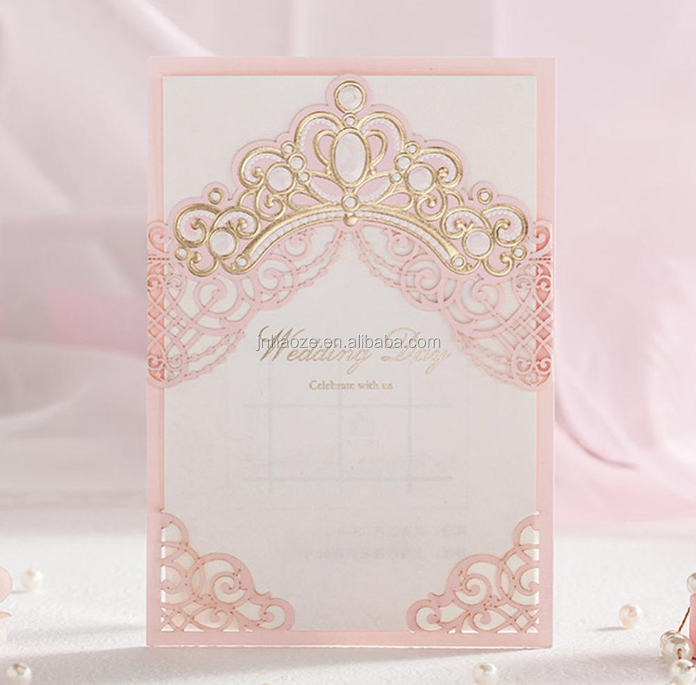 Paper Crown Wedding Invitations, Paper Crown Wedding Invitations ...