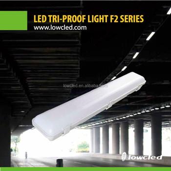 10w led industrial tri proof light fixtures led tri proof light 2ft