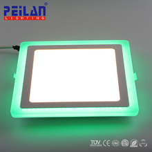 China Supplier OLED Flexible 30X30 60X60 120X60 RGB SMD Ceiling LED Panel Lamp Dmx Rgbw Panel Light