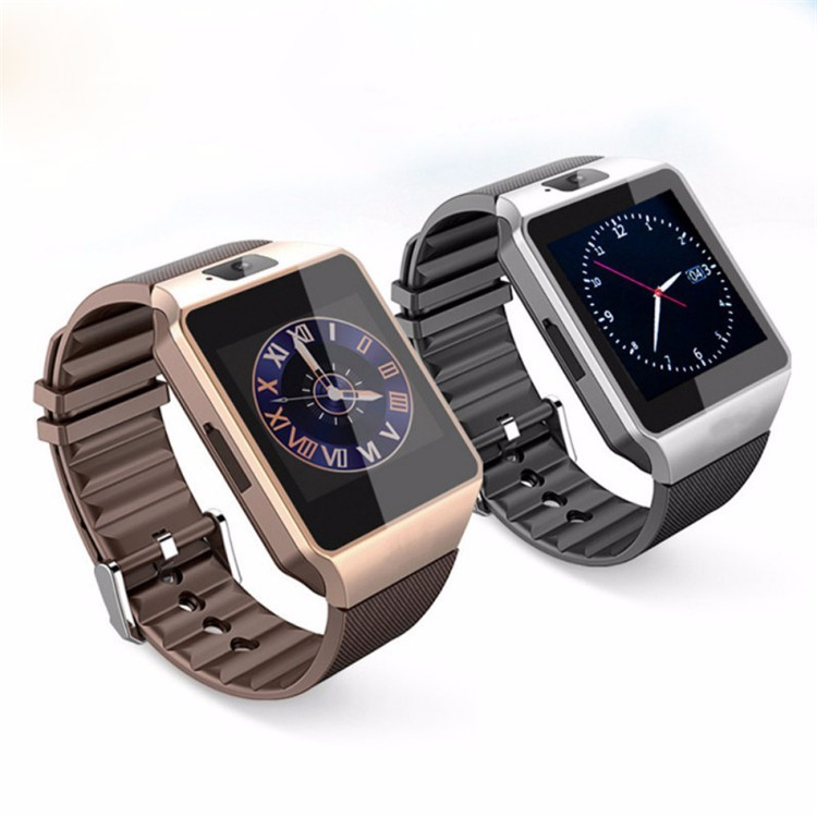 2018 Hot Menjual Bluetooth WIFI Smartwatch DZ09 Android Sport Smart Watch Ponsel