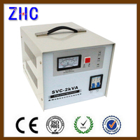ac power 2000w 2kva svc single phase power automatic stablizer voltage regulator for generator