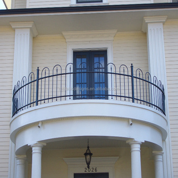 Modern Iron Balcony Design For Railing Designs Wrought Railings