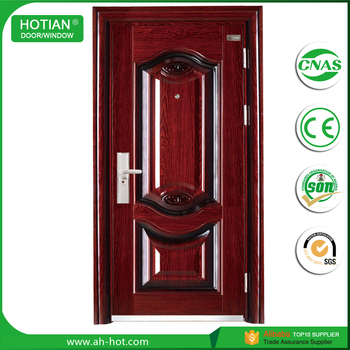 European Style Interior Steel Door Italian Steel Security Doors Iron Grill  Door Designs