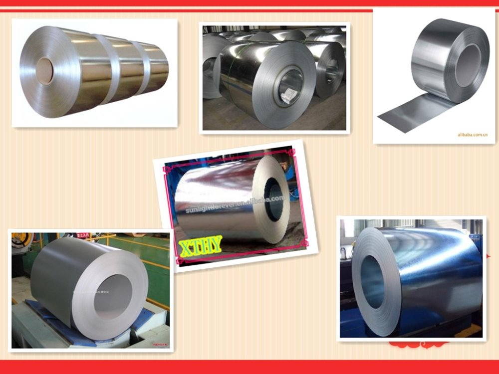 building metal roofing galvanized coil/galvanized sheet/hot rolled steel coil made in china