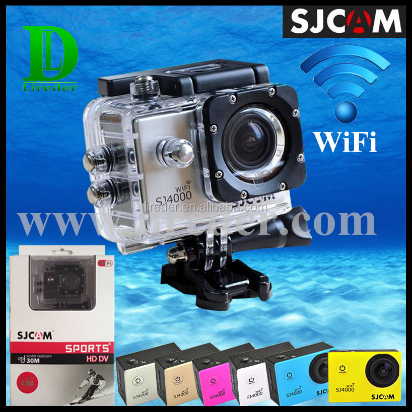 "Novatek96655 IC 1.5"" Screen SJCAM Sj4000 Wifi Action Camera PK Cheap Action Camera Waterproof"