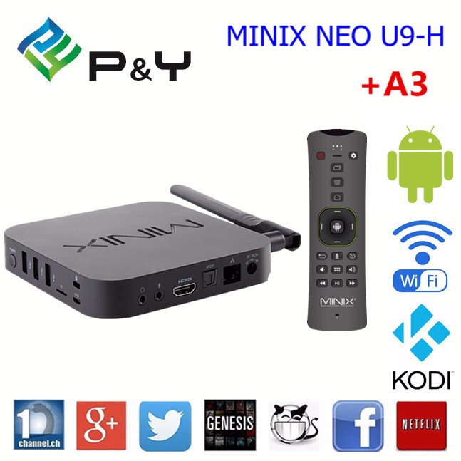 New! Minix NEO U9-H S912 <strong>2G</strong> 16G play store download app photo international <strong>Android</strong> 6.0 <strong>TV</strong> <strong>Box</strong>