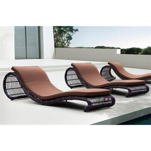 outdoor sunbed rattan furniture sun lounge daybed