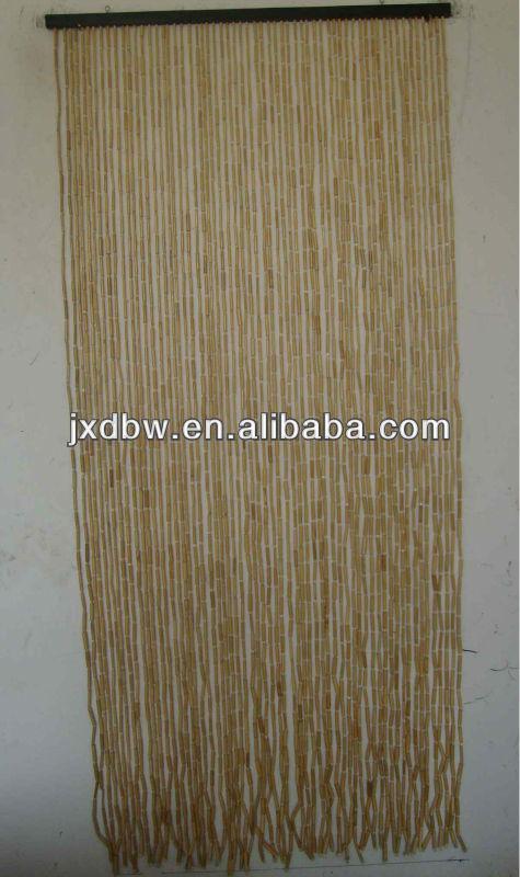 90x180cm 60 stringhe decorativo naturale perle di bamb tenda per porte persiane e tapparelle for Donde venden cortinas
