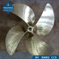 China Marine Fixed Pitch Aluminium Propeller For Sale