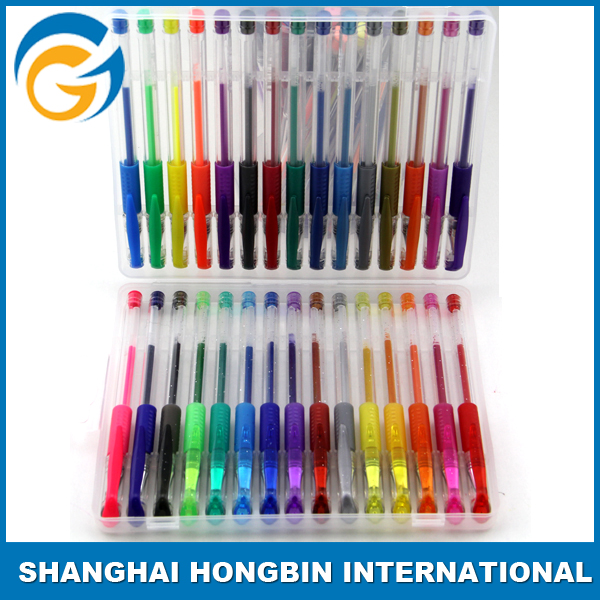 100 60 Color High Quality Color Gel Pen Fluorescent Gel Pen