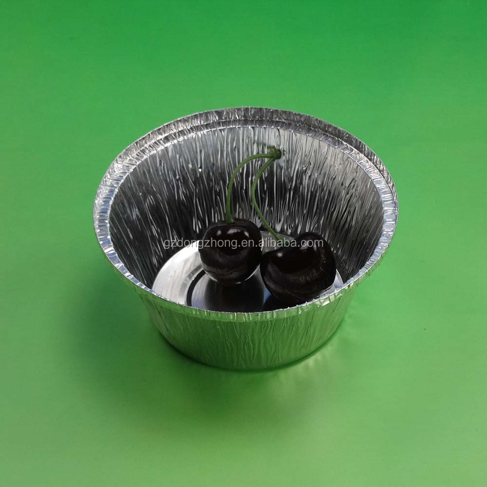 aluminium foil container with lid round cake pans aluminium cup egg tart tray disposable cup/aluminum foil muffin pan