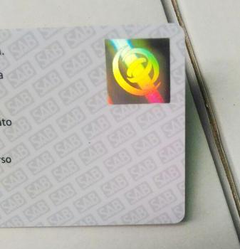 Stamped Identitas pembuatan Plastik Hologram Buy - Pencetakan Kustom Kartu Kartu pvc Cetak Pembuatan Kart Id Identitas Pvc Keanggotaan Overlay