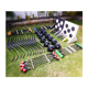 Archery game tag include Saver Finger archery bow and foam tip arrow/mask/ Inflatable Bunkers/target/chest protector