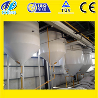 small scale 10T/D crude cooking edible refined oil machine