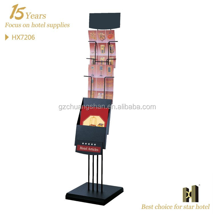 Metal Stainless Steel Brochure Holder