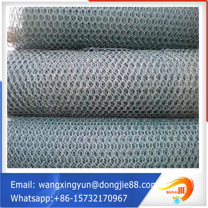 china supplier hexagonal wire netting/wire cages rock retaining wall