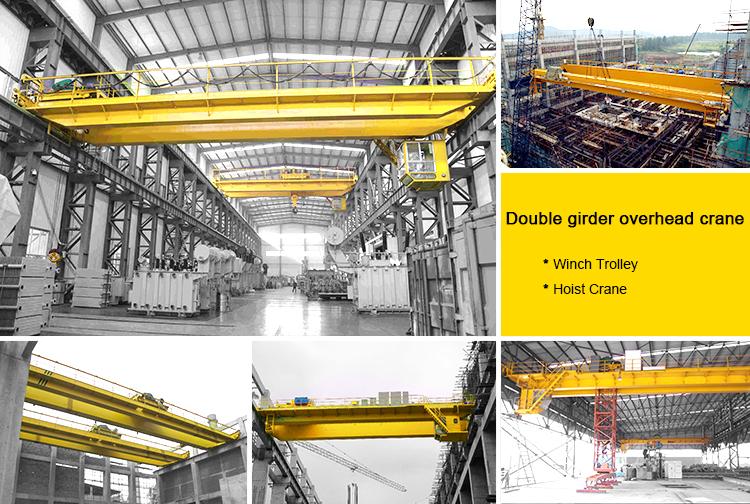 Electric Double Girder E.O.T Bridge Crane