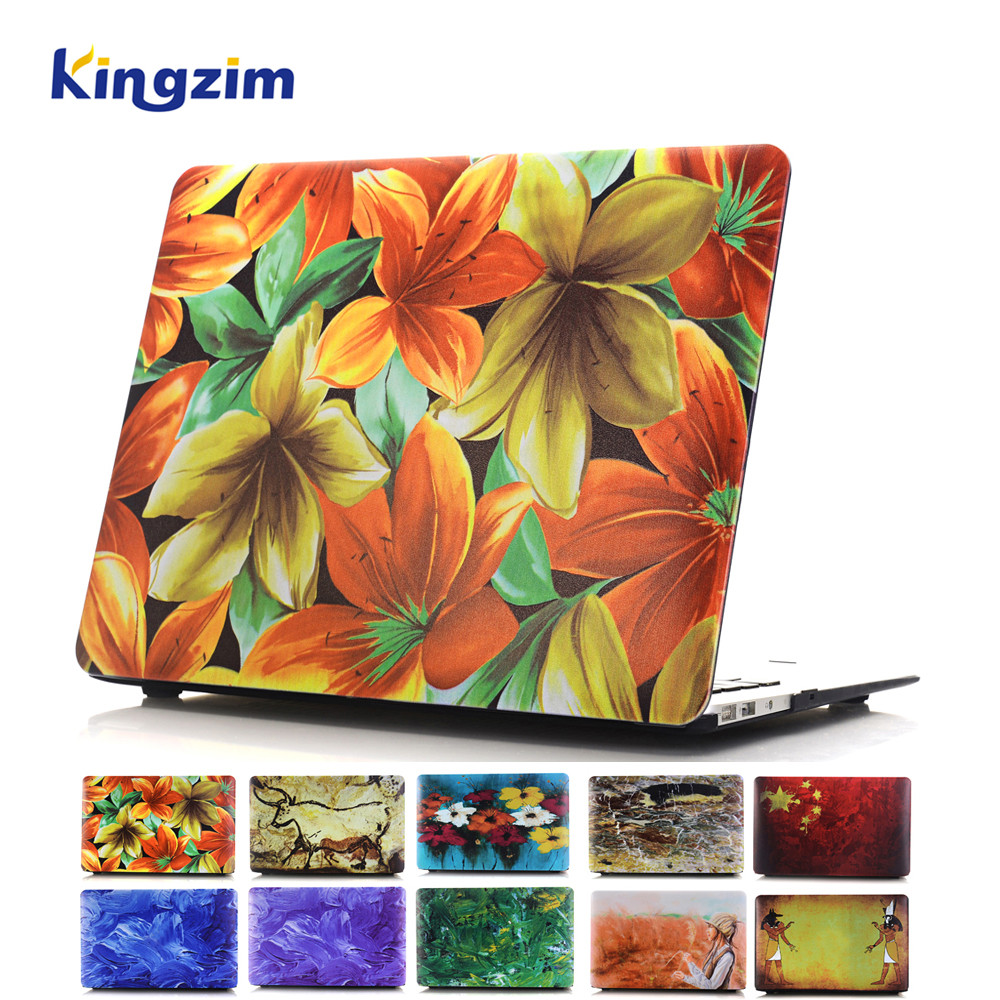 Hard Shell for Macbook Air 11.6 Laptop Case for Apple Macbook Air Plastic Snap-on Skin Cover Multi Prottern OEM