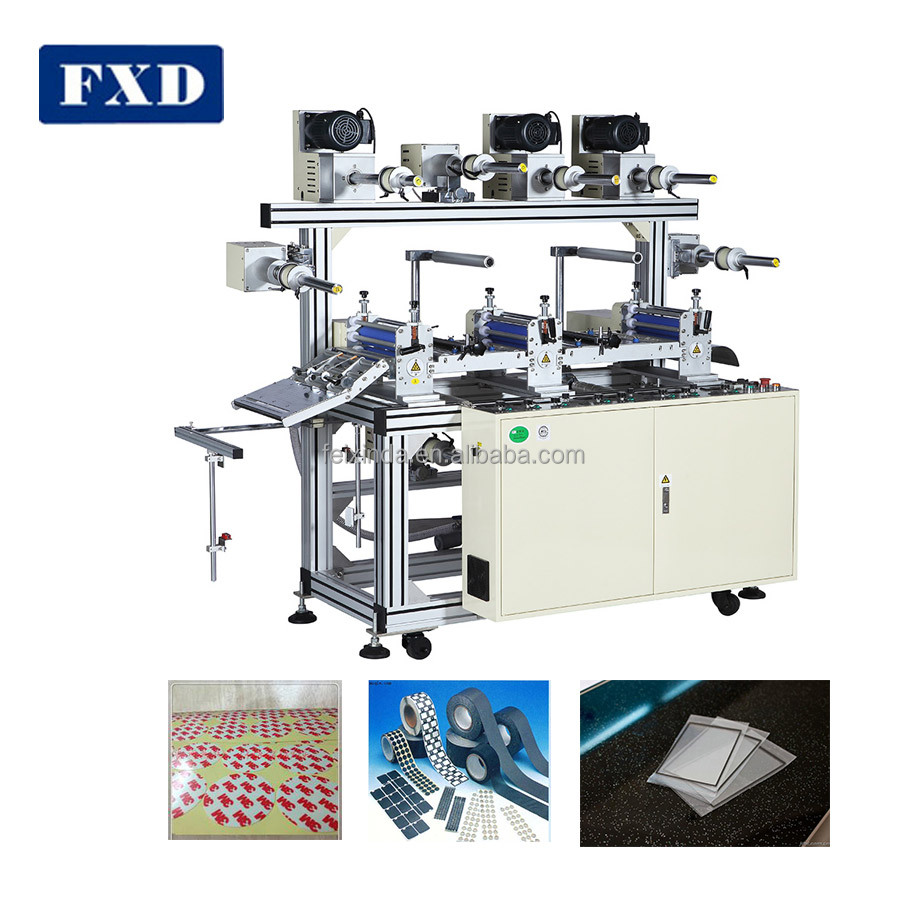 Auto PVC film lamination machine