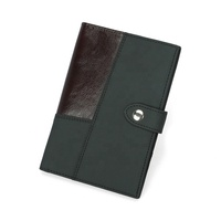 Cowhide Passport RFID Wallet For Man Patchwork Leather Card ID Holder New Genuine Leather Passport Cover