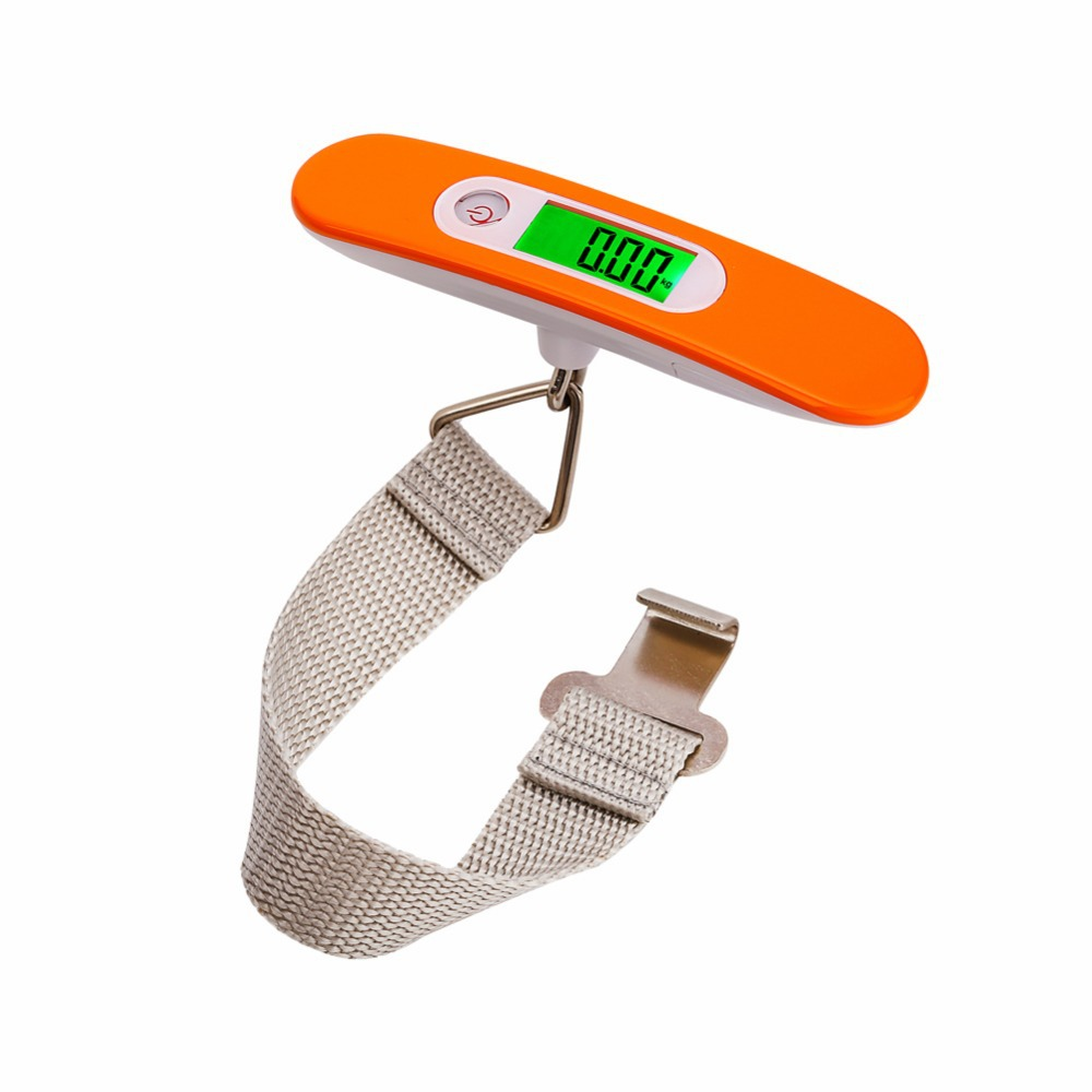 Popular Promotional 50kg 10g Built in Digital Luggage Scale for Travel and Home Use