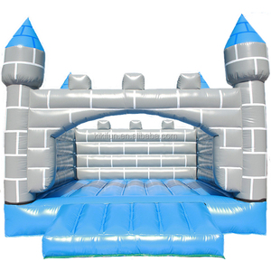 QIQU commercial grade kids cheap prices inflatable bouncy castle / jumping castle with blower / inflatable bouncers for children